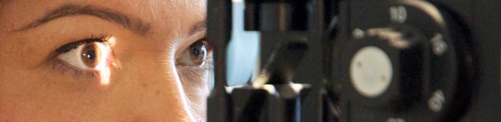 Diagnostik: Untersuchung mit der Spaltlampe